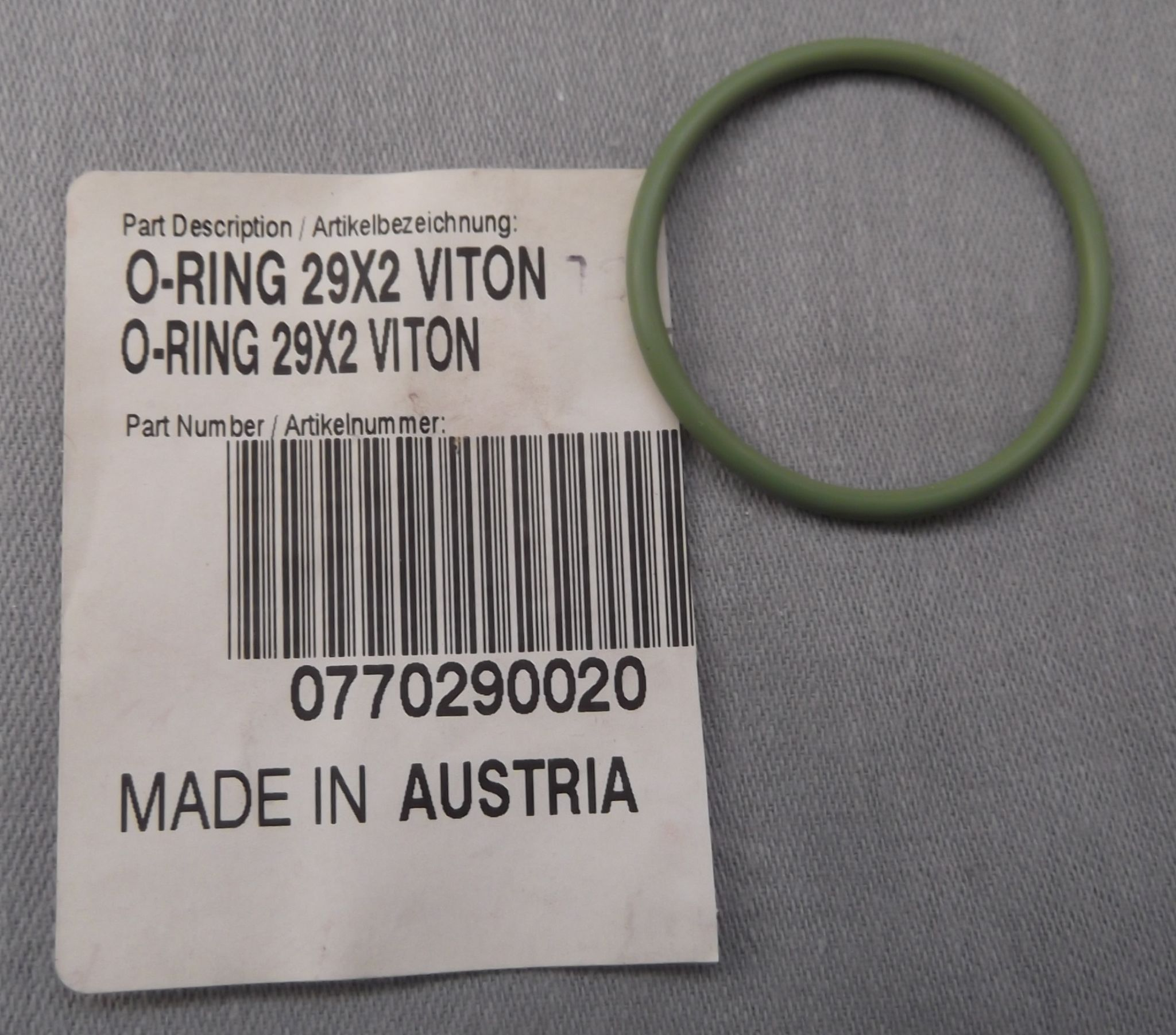 Genuine KTM 950 990 Timing Gear Bearing O-ring Seal 0770290020
